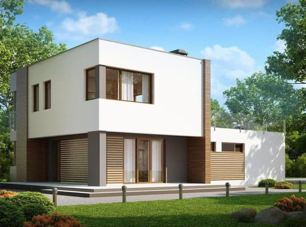 Двухэтажный дом имеет массу преимуществ