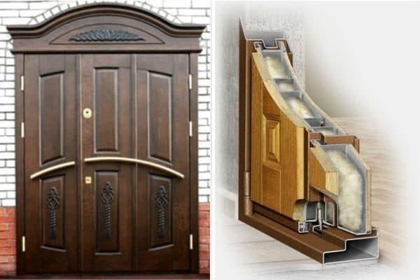 утепление входной двери для частного дома