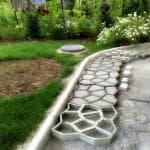 пластиковые бордюры для садовых дорожек