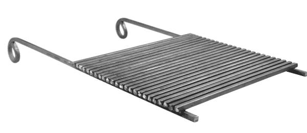 плоская чугунная решетка для мангала