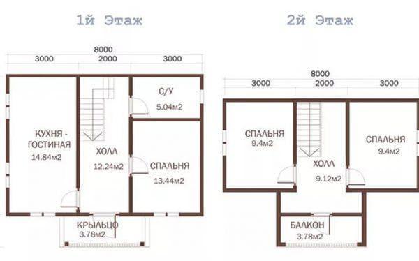 дом на 109 м-2