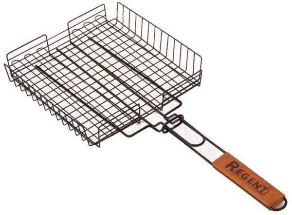 глубокая чугунная решетка для мангала