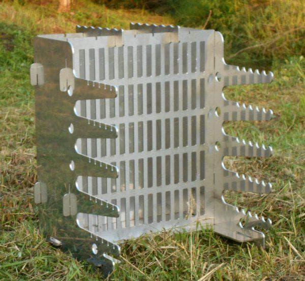 вертикальный мангал