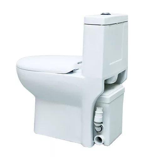 туалет на даче с унитазом Сантехбрянск