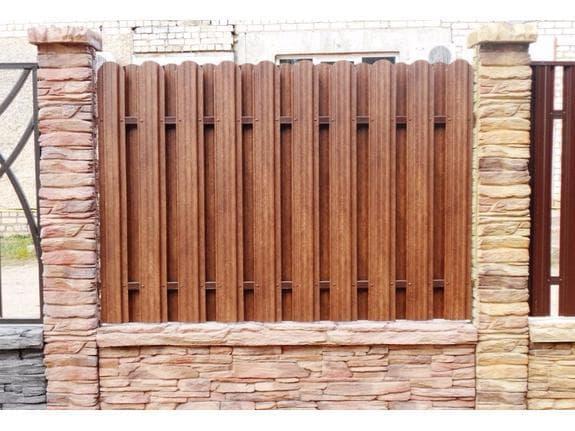 металлический забор штакетник от АБФ Металл