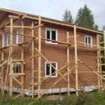 одноэтажные каркасно щитовые дома