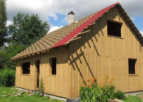 Древесноволокнистые плиты для стен каркасного дома