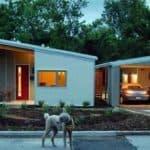 Обзор проектов одноэтажных домов с односкатной крышей