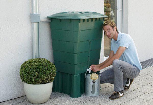 пластиковые емкости для дождевой воды