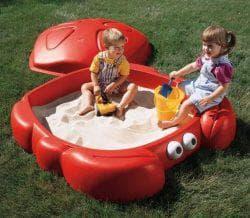 пластиковые песочницы для детей