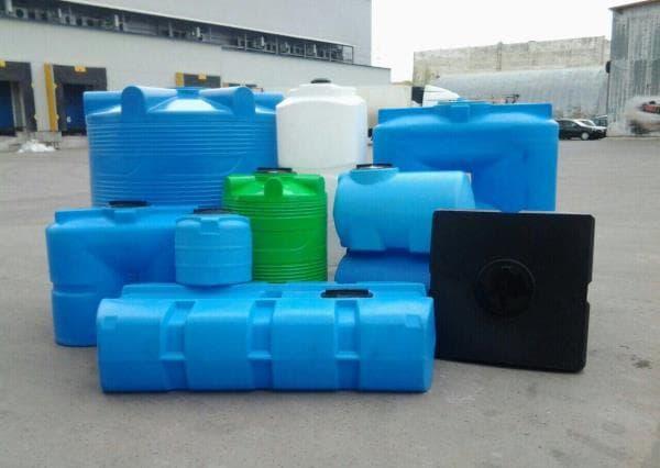 пластиковые емкости для накопления воды