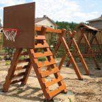 стоимость резинового покрытия для детских площадок