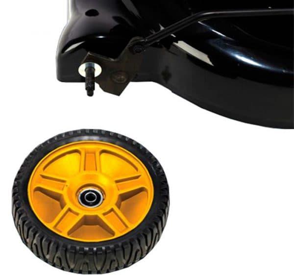 колёса бензиновой газонокосилки