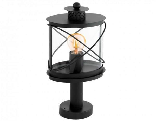 наземный уличный светильник с лампой накаливания