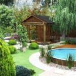 Основы создания ландшафтного дизайна двора частного дома