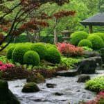 Как создать японский стиль в ландшафтном дизайне