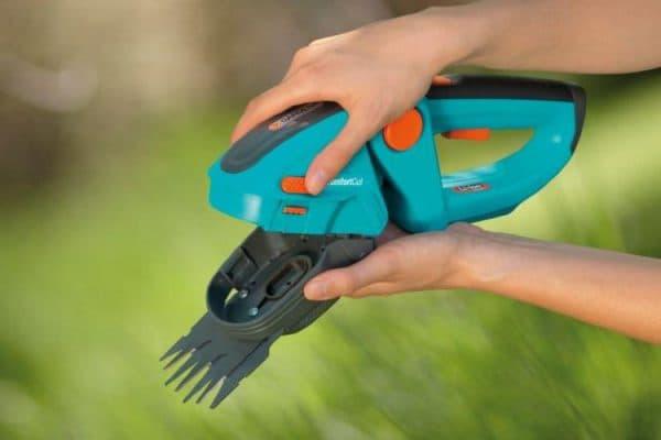 аккумуляторные садовые ножницы для стрижки кустов